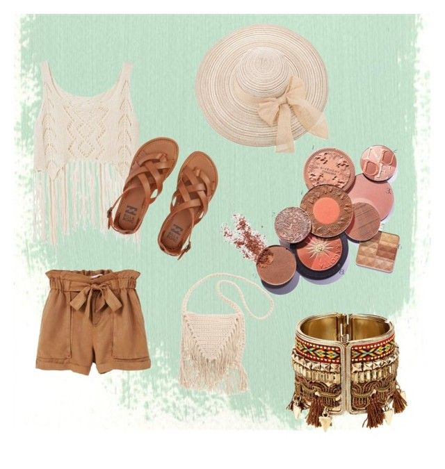 """it' s summer time"" by dreaaaman on Polyvore featuring MANGO and Billabong"