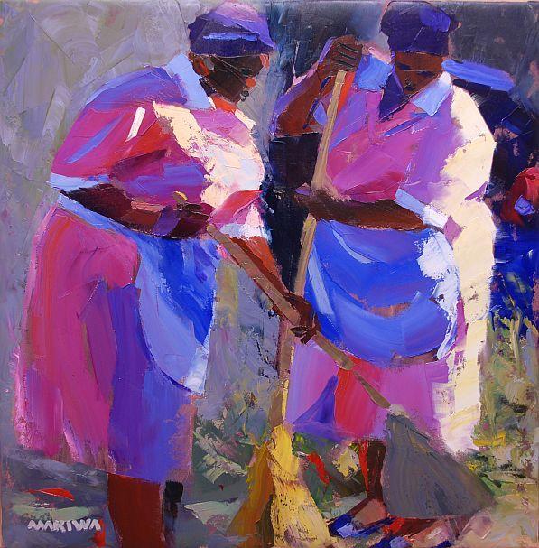 """Makiwa Mutomba: """"The Cleaners"""""""