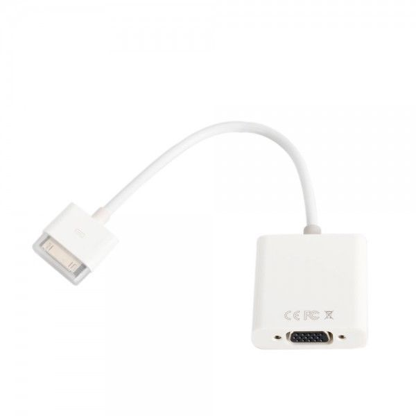 ***HOTDEALS Dock Connector to VGA Converter Adapter Cable for iPad 2/3/iPhone 4s #UnbrandedGeneric