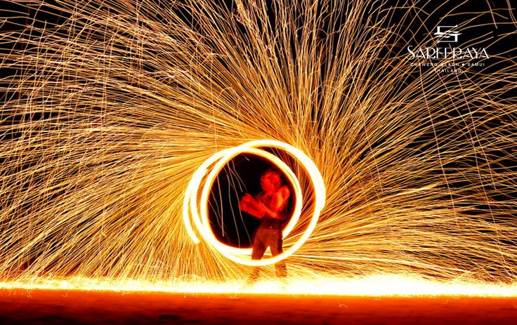 Amazing Fire Dance Show!