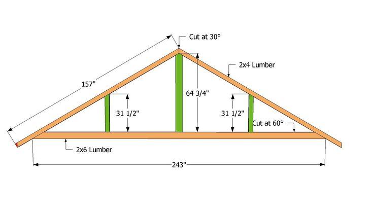 1000 ideas about carport plans on pinterest carport for Truss plan