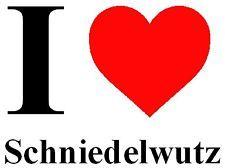 German, Fun T-Shirts for Men & Women for People with a good Sense of Humor :) Schniedelwutz: Non-vulgar, non-offensive German Slang Word for Dick :)