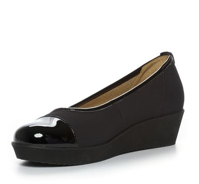 Nilson Shoes Ballerinaskor Sko Textil Svart