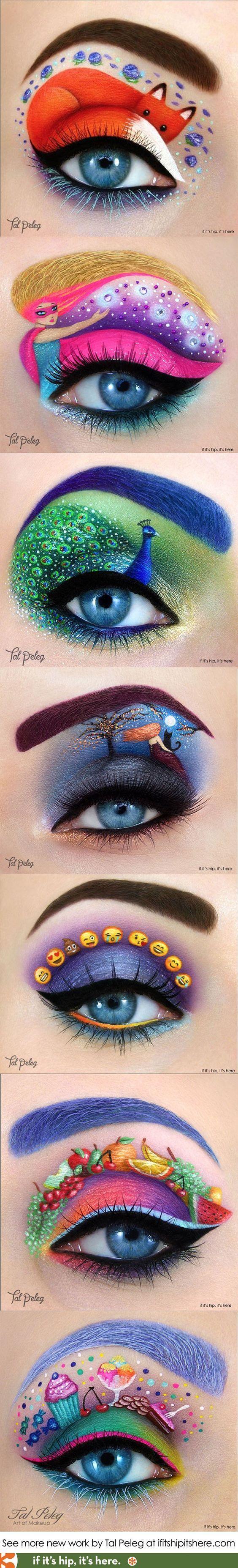 J'ai choisi cette image, car je trouve que les maquillages sont super beau et que les couleurs choisies sont vives et rendent le tout merveilleux. Lorsque je regarde cette image, je ressent de la joie et de la liberté puisqu'il y a des animaux sauvages et que la petite fille sur deux des maquillages est dehors et elle a aussi l'air libre.