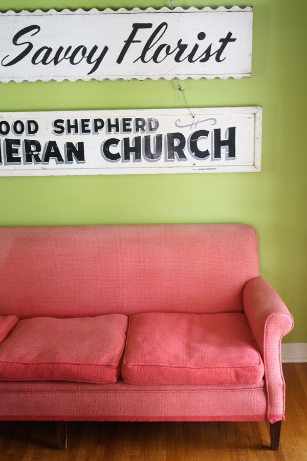 this one is mine in my own house i finally got it pink couchmeant