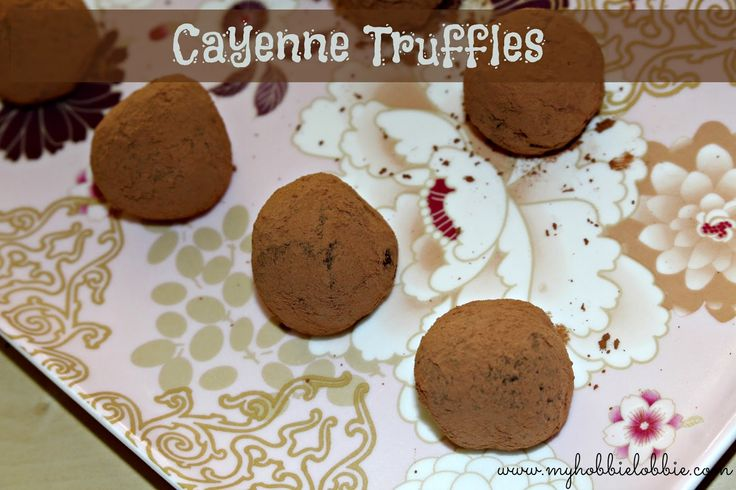 SRC - Holiday Treats: Cayenne Truffles - An easy treat to make to gift around the holiday season or any time of the year