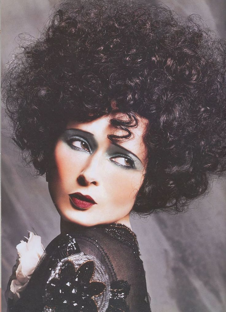 Isabella Rossellini as Alla Nazimova - makeup by the late great Kevyn Aucoin