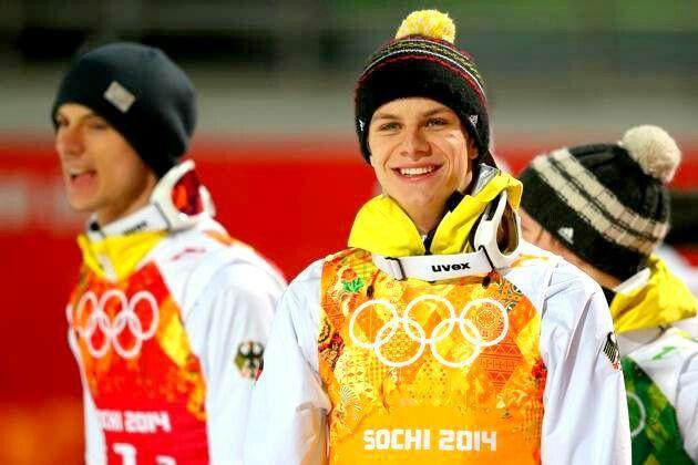 Andreas Wellinger&Wank&Kraus Sochi 2014