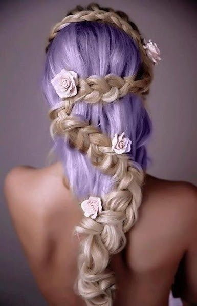 Magnificent 17 Best Images About Hair On Pinterest Violet Hair Neon Hair Short Hairstyles Gunalazisus