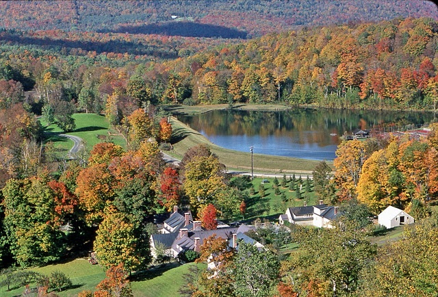 Twin Farms; Bed and Breakfast, located in Barnard Vermont