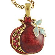 Jeweled Pomegranate Necklace