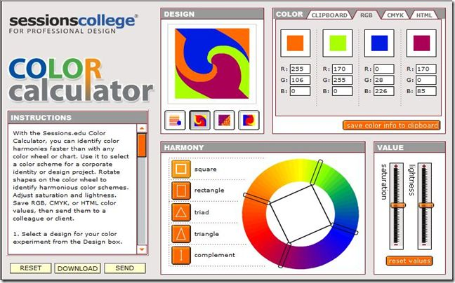 review of 19 different color palette generators