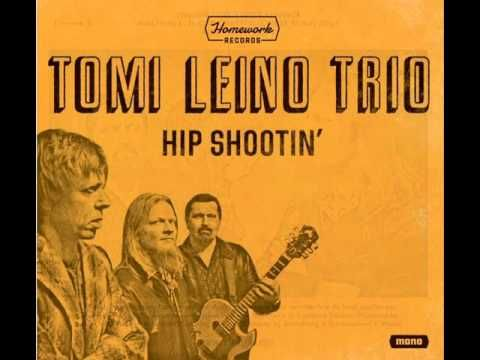 """TOMI LEINO TRIO-""""Hip Shootin'"""" cd clips 2016. Tomi Leino is a blues singer, harp player and guitarist from Helsinki, Finland. Being a self taught musician he has spent most of his life listening and playing blues and other root music. Tomi Leino Trio's rhythm section members - Jaska Prepula on bass / guitar, and Mikko Peltola on drums"""