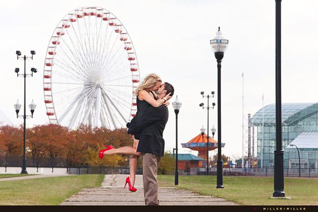 chicago brides   BRIDES Chicago: 10 Locations for Perfect Engagement Photos