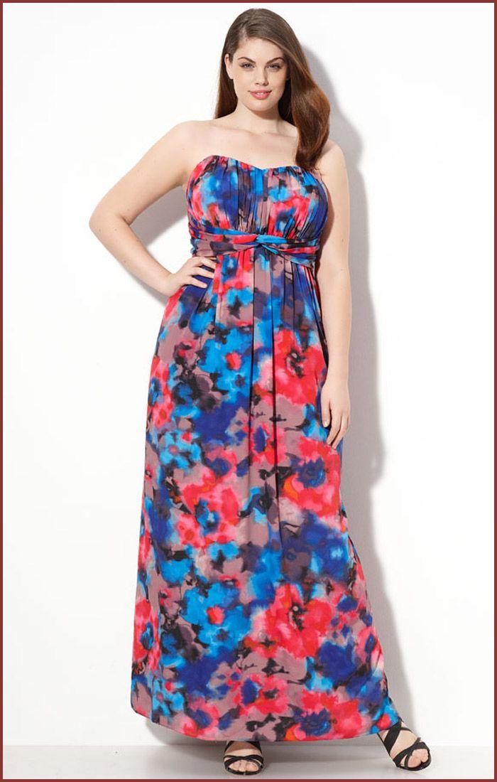 Cutethickgirls Com Floral Plus Size Dresses 15