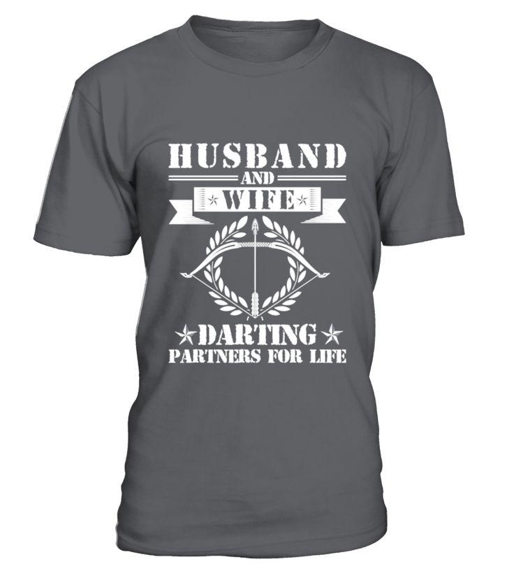 Husband And Wife Darting Partners  husband#tshirt#tee#gift#holiday#art#design#designer#tshirtformen#tshirtforwomen#besttshirt#funnytshirt#age#name#october#november#december#happy#grandparent#blackFriday#family#thanksgiving#birthday#image#photo#ideas#sweetshirt#bestfriend#nurse#winter#america#american#lovely#unisex#sexy#veteran#cooldesign#mug#mugs#awesome#holiday#season#cuteshirt