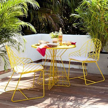 Bend Dining Table & Chairs #WestElm