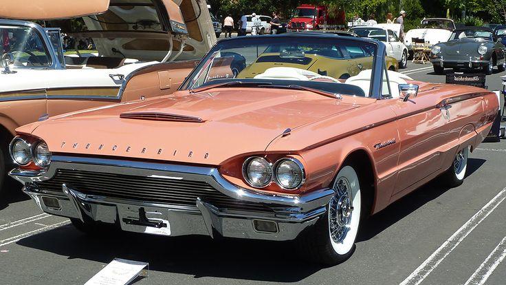 thunderbird 1964 convertible salmon - Pesquisa Google
