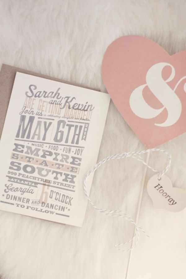 hooray for cool wedding invites by   Photography by  #Beautiful jewelry!!!#You would like...#