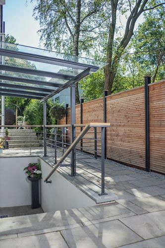 Terrace shelter with sunshade, patio roof, porch  – Wintergarten