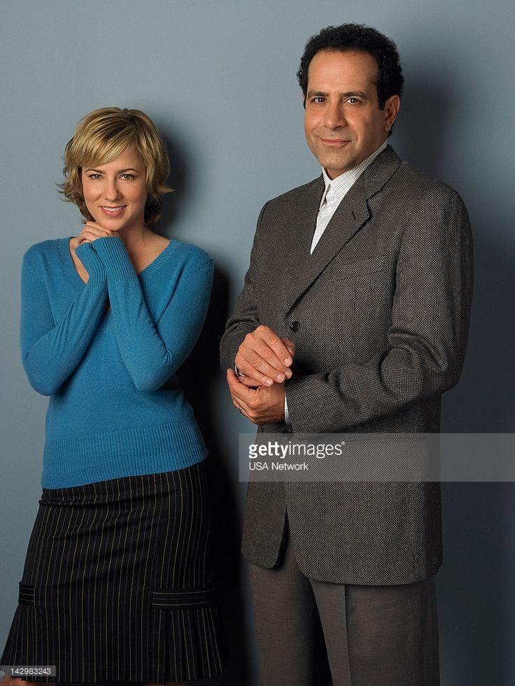 Traylor Howard as Natalie Teeger, Tony Shalhoub as Adrian Monk--