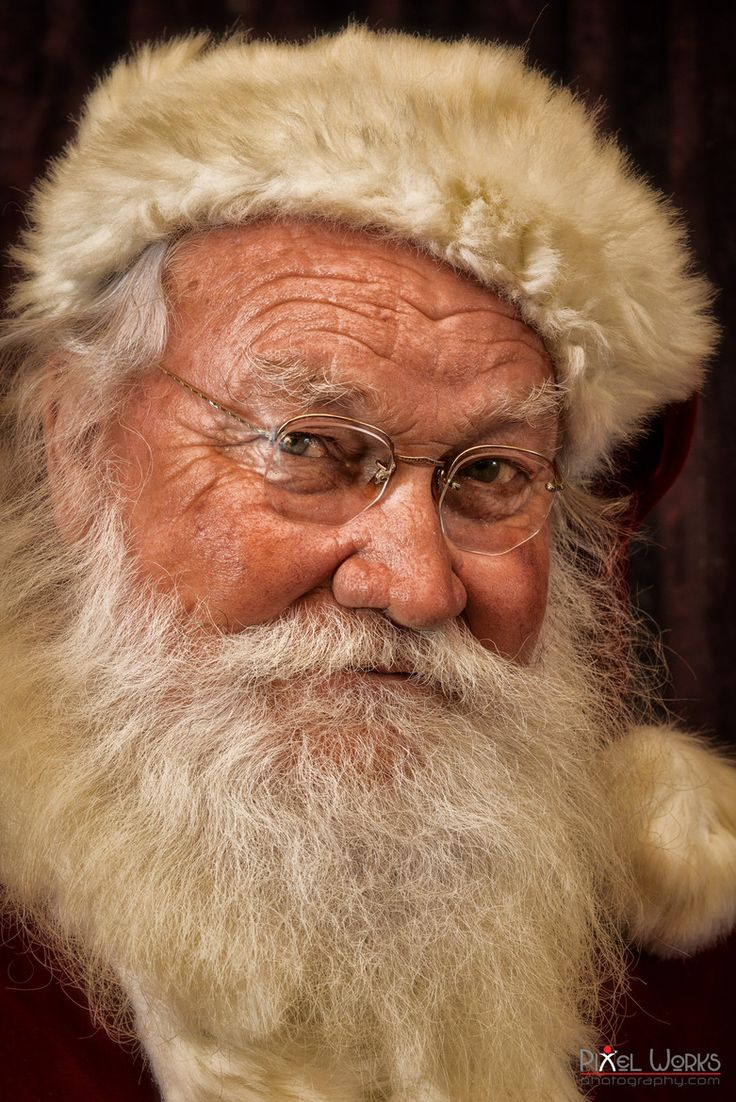 Santa Portrait - It's the real thing... by Danny Collado