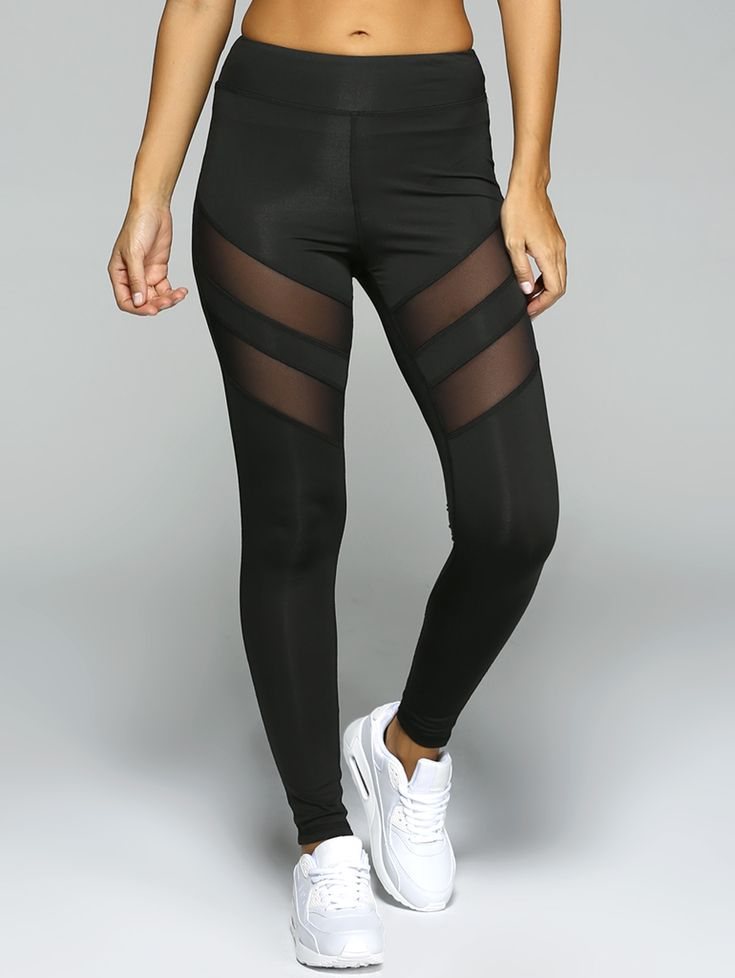 See-Through Tight Sport Leggings