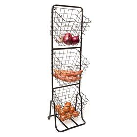3-Tier Vegetable Stand - plant herbs in this
