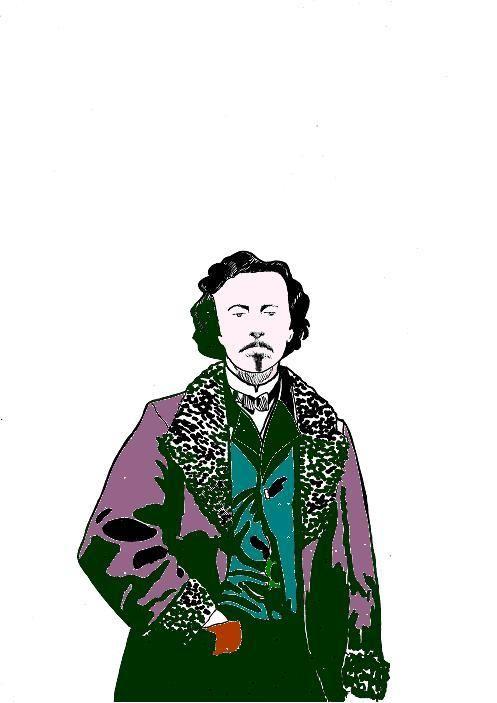 ritratto di Villiers de L'isle Adam - Edizioni Hypnos