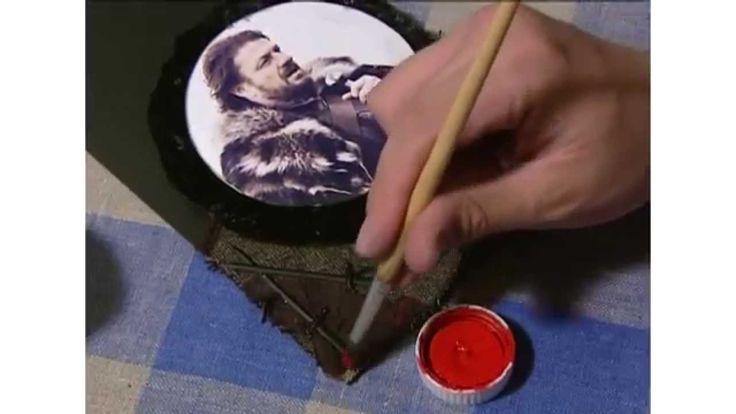 Открытка «Нэд Старк» / Postcard «Ned Stark» / ПОДЕЛКА