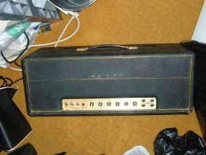 Vintage marshall major 200 watt plexi year 1969 3490 for Marshalls cincinnati oh