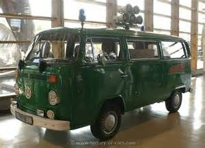 vw 1973 transporter bus polizei - the history of cars - exotic cars - customs - hot rods - classic cars - vintage cars