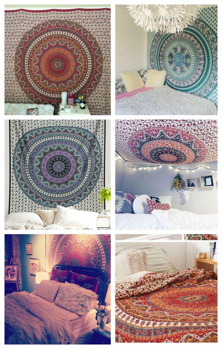 Bhava Large Tapestry Mandala Tapestry Bohemian Bedroom