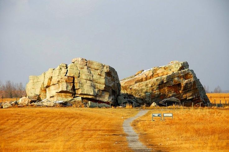 Need to visit Erika and see Okotok's erratics in AB, CN.