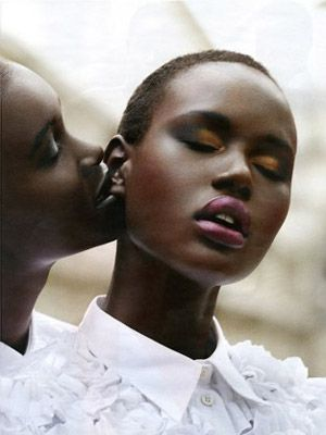 Name: Ajak Deng Agency: IMG Hometown: Melbourne, Australia Where you've seen her: Kenzo, MAC, and CK One campaigns.