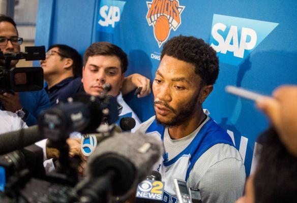 Derrick Rose's civil rape trial starts on same day Knicks open preseason schedule