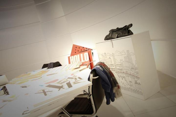 Last working days before Milano Design Week 2012