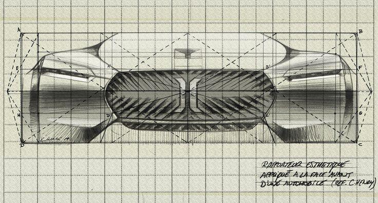 Renault Concept Le Corbusier Front study