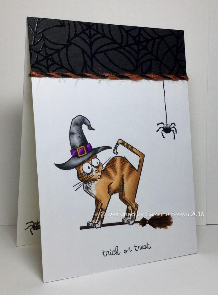 Tim Holtz Crazy Cats Halloween