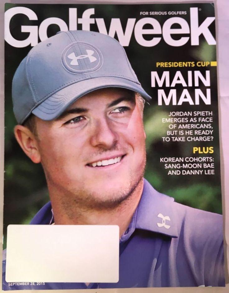 Golfweek Magazine September 28 2015 Presidents Cup Spieth Sang Moon BAe Golf   eBay