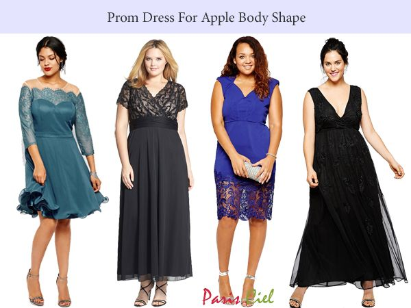 Prom Dress For Apple Body Shape