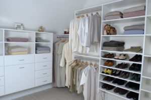Custom Closet Drawer Units