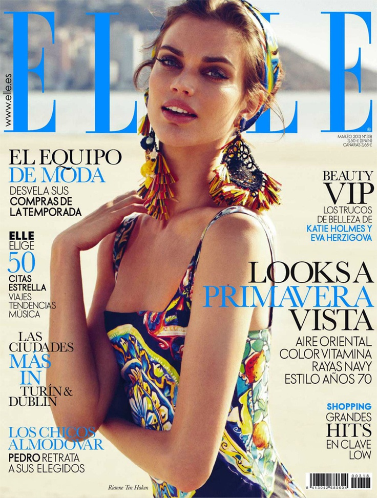 Elle Marzo 2013 (Spаin)Spanish | 268 pages | PDF | 199.85 MB