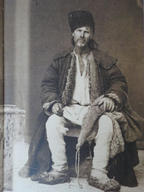Nobleman of the Podolian race from the Chocim region, 1870s-1880s, ph. Michal Greim