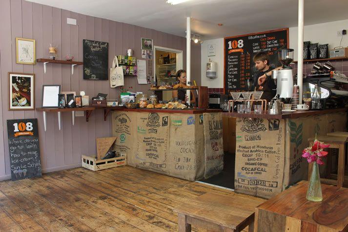 108 Coffee House, Truro, Cornwall