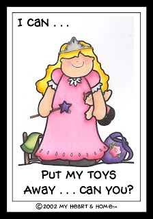 """Training toddlers to do chores...""""I can"""" chore charts. (Look at file folder # 3 for her this pdf and other 2010 pdfs)"""
