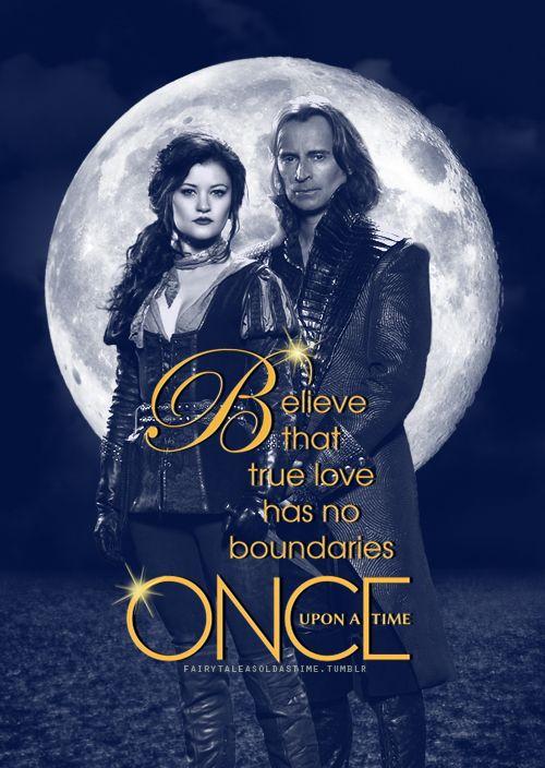 Fan made RumBelle season 3 poster - by fairytaleasoldastime on Tumblr
