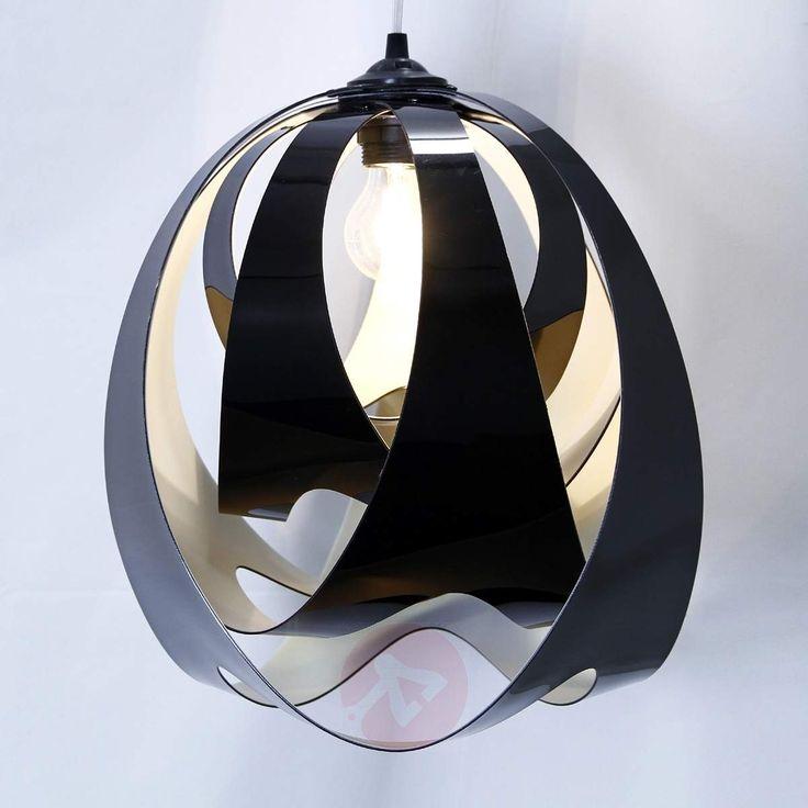Moderne hengelampe GOCCIA DI LUCE svart-8503126-30