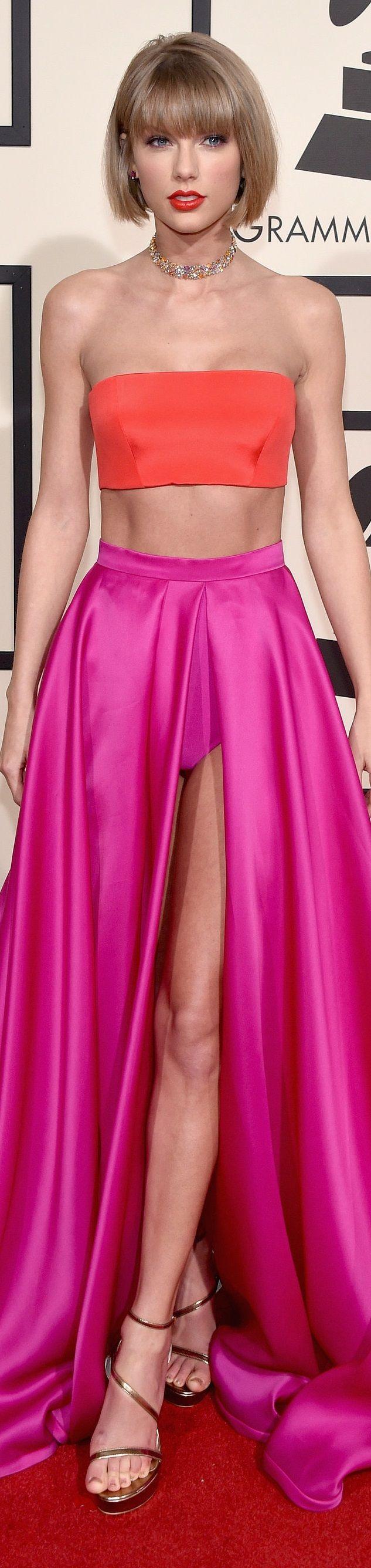 Taylor Swift veste Atelier Versace - Grammy Awards 2016