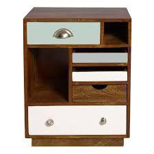 Image result for wooden bedside table